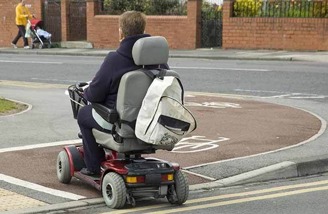 Mobility Scooters and Powered Wheelchairs  –  is it time for a change in Legislation?
