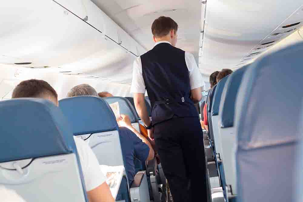 Damages secured for airline passengers injured and assaulted during in-flight incidents