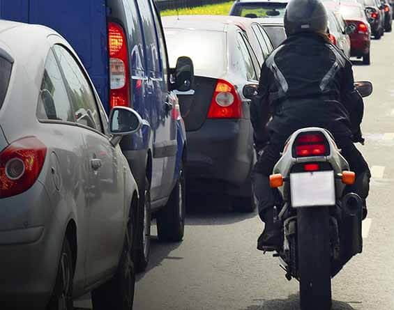 Motorcyclist praises legal support which brought medical care and compensation after being hit by car